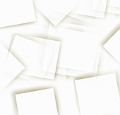 Abstract pattern of white rectangles, illustration