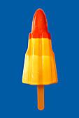 Rocket ice lolly, illustration