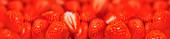 Fresh strawberries, illustration