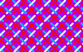 Abstract pattern of crisscrossing dotted lines, illustration