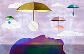 Medication, conceptual illustration