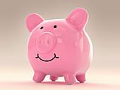 Piggy bank, illustration