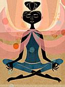 Meditation, illustration