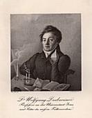 Johann Wolfgang Dobereiner, German chemist