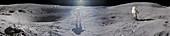 Apollo 16 exploration of the Moon, April 1972