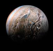Jupiter, JunoCam image