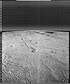 Marius hills area of the Moon, Lunar Orbiter 2, 1966