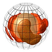 Magma engine theory of plate tectonics, illustration