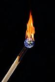 Global warming, conceptual image
