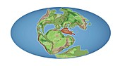 Greater Adria lost continent, 140 million years ago