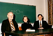 DuPont chemists who developed Kevlar, 1970s