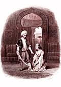 Scene from The Arabian Nights, 18th century