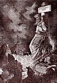 Death of Giordano Bruno, Italian philosopher