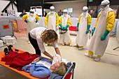 Ebola training centre