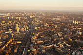 London, UK, at sunset