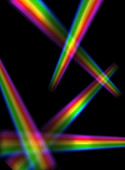 Light spectrums,illustration