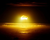 Dominic 'Bluestone' atom bomb test,1962