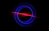 Null space,abstract light art