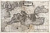 Map of Europe,16th century