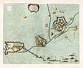 Coevorden fortifications,17th century