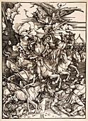 Four Horsemen of the Apocalypse,circa 1498