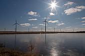 Windfarm,North Dakota,USA