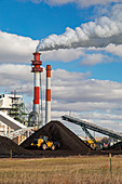 Coal-fired power plant,Montana,USA