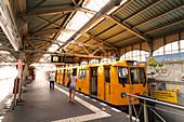Subway station in Berlin