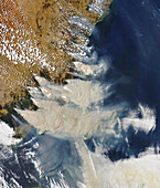 2019-20 Australian bushfire season,satellite image