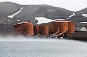 Abandoned whaling station