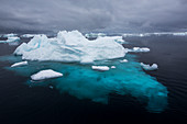 Sea ice in the Weddell Sea,Antarctica
