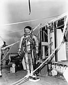 Project Strato-Lab pilot Victor Prather, 1961
