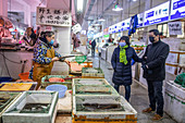 Food market during Covid-19 outbreak in China, 2020