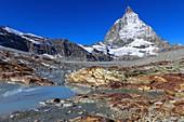 Matterhorn and metamorphic rocks