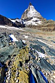 Matterhorn,serpentinite and rodingite