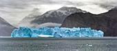 Tabular iceberg in Nordvestfjord,Greenland