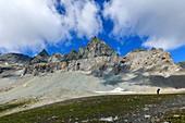 Major Alpine overthrust in the Swiss Alps