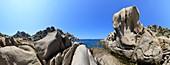 Granite on Capo Testa,Sardinia,Italy