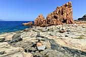 Igneous rocks near Arbatax, Sardinia, Italy