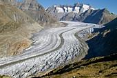 Great Aletsch Glacier,2006