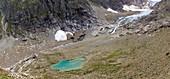 Recession of Stein glacier