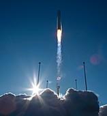 Northrop Grumman Antares rocket launch