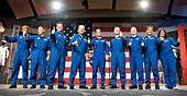 Commercial spacecraft crews announced, August 2018