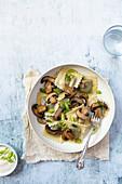 Vegetarische Pilz-Tortellini