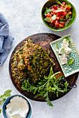 Kuku Sabzi - Iranian herby omelette