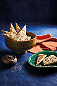 Mana'eesh - Lebanese flatbreads