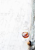 Sherry im Glas