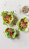 Sang choi bau - Asian lettuce-wrapped delight