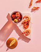 Vermouth with Shrimps