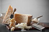 Parmigiano reggiano and Grana padano